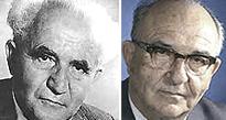 Ben Gurion e Levi Eshkol