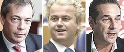 Farage, Wilders e Strache