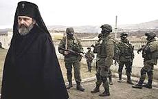 Soldati russi in Crimea