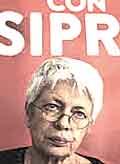 Barbara Spinelli, promotrice della Lista Tsipras