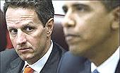 Geithner e Obama