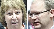 Il ministro estone Urmas Paet al telefono con la Ahston: a Maidan, cecchini mercenari per incolpare Yanukovich