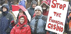 La protesta dell'Islanda contro le banche