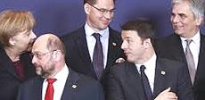 Renzi a Bruxelles