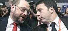 Renzi con Schulz