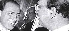 Berlusconi e Craxi