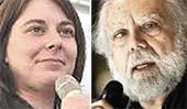 Cecilia Strada e Sergio Staino