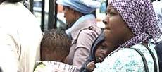Migranti poveri sbarcati a Lampedusa