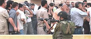 Palestina, repressione israeliana