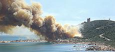 Sardegna, il poligono missilistico di Quirra