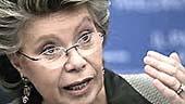 Vivianne Reding, commissaria Ue
