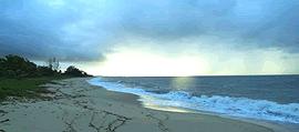 Bahia, la spiaggia di Santo Andre citata da Escobar