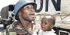 Bambini, vittime del genocidio in Rwanda
