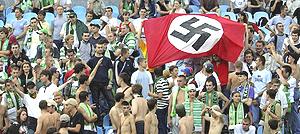 Bandiera nazista a Kiev