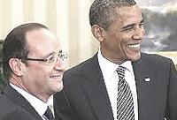 Hollande e Obama
