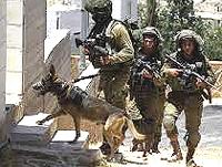 Israele, rastrellamenti contro i palestinesi