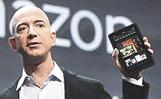 Jeff Bezos, fondatore di Amazon