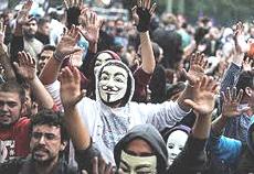 La protesta dei giovani