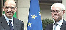 Letta e Van Rompuy