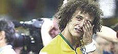 Lo sconforto dei calciatori carioca umiliati sul campo