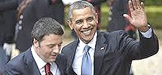 Renzi con Obama