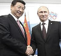 Xi Jingping con Putin