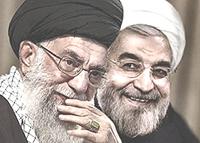 Khamenei e Rohani