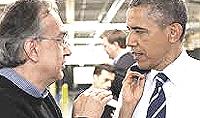 Marchionne e Obama
