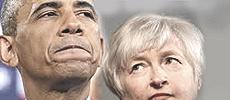 Obama e Janet Yellen