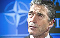 Anders Fogh Rasmussen, Nato