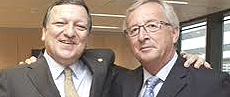 Barroso e Juncker