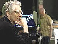 Cronenberg sul set di Cosmopolis