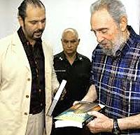 Estulin con Fidel Castro