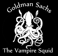 Goldman Sachs, the Vampire Squid