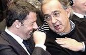 Marchionne con Renzi