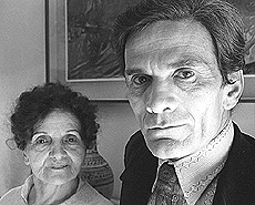 Pasolini con la madre, Susanna