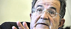 Romano Prodi, leader dei politici italiani pro-euro