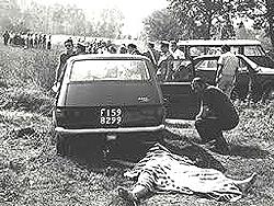 Uno degli omicidi rituali consumati sulle colline di Firenze