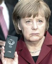 Angela Merkel spiata dalla Nsa