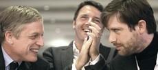 Cuperlo e Civati, Renzi se la ride