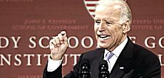 Joe Biden a Harvard