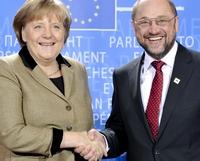 Merkel e Schulz