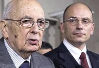 Letta a Napolitano, il governo può farcela