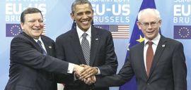 Obama coi vertici Ue