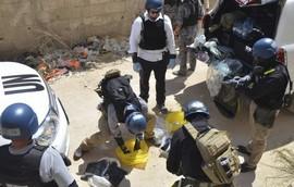 Siria, la consegna delle armi chimiche
