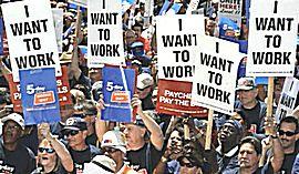 Usa, disoccupati