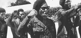 Le Black Panthers di Malcom X