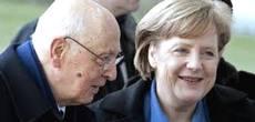 Napolitano e la Merkel