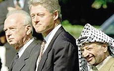 Rabin, Clinton e Arafat a Oslo