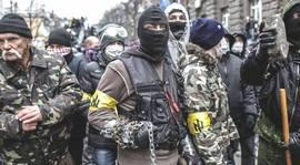 Ucraina, miliziani di Settore Destro
